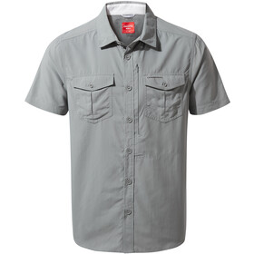 Craghoppers NosiLife Adventure Shirt Korte Mouwen Heren, cloud grey
